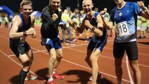 """Sondre N. Moen med to Europarekorder og sterke 10.000 løp under """"Stadionmila"""" i Kristiansand"""