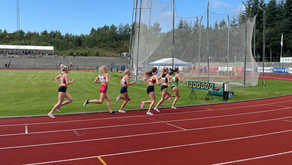 Jr NM 1.dag: sølv til Kristine og Jonas - Sara, Freya,Mathea, Benjamin og Johannes til 1500 finale
