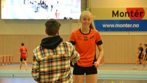 Mathea Melberg, 4.43.44 klubbrekord, 7.plass jr NM og klar for hoved NM i  Bergen