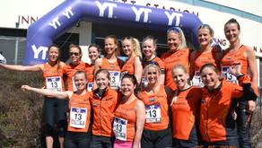 Laguttak Holmenkollstafetten - 2 lag kvinner