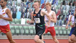 Narve og Filip tok kval.krav inne-EM, Erik T.G.sterk 3000, norske rekorder og 10.38 !! av Mathias