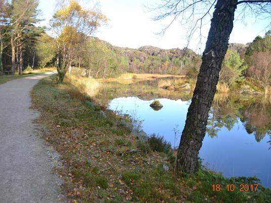Kystløpet lørdag, veldedighetsløp 11 km - vakker natur og nesten gratis å delta....