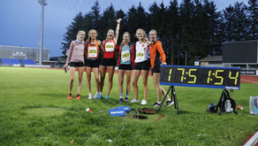 Magisk løperkveld på Sandnes stadion - takk for underholdningen jenter!
