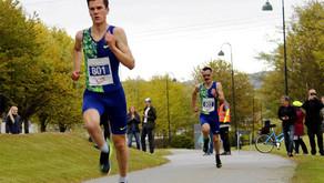 Jakob Ingebrigtsen: løp helt alene til ny Europarekord 3.28.68 - da harene åpnet på vanvittige 52.2!