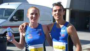 Varegg løperpar imponerte i Stavanger Maraton. Superløp også av Jan Gunnar og Elisabeth fra GTI