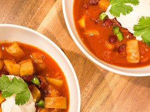 Healthy Easy Vegan Chili Recipe