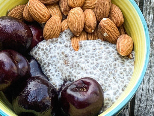 How to Make Chia Seed Pudding. Healthy Plant-Based Vegan Breakfast