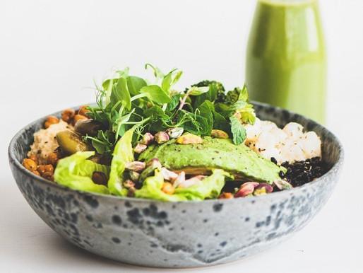 Hummus Chickpea Plant-Based Vegan Buddha Bowl