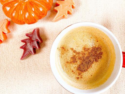 Pumpkin Spice Latte. DIY Vegan Recipe.