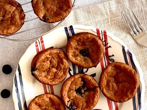 Blueberry Banana Plant-Based Breakfast Muffins