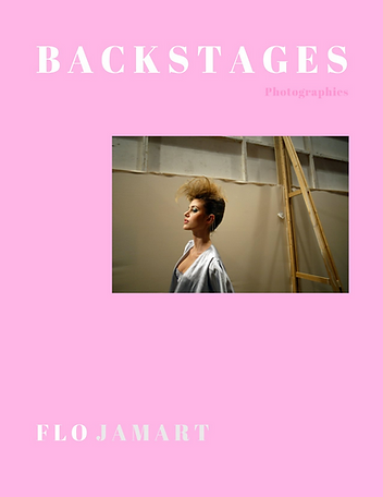 Livre backstages Florence Jamart