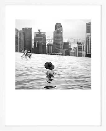 Baigneuse #2, Marina Bay Sand, Singapour