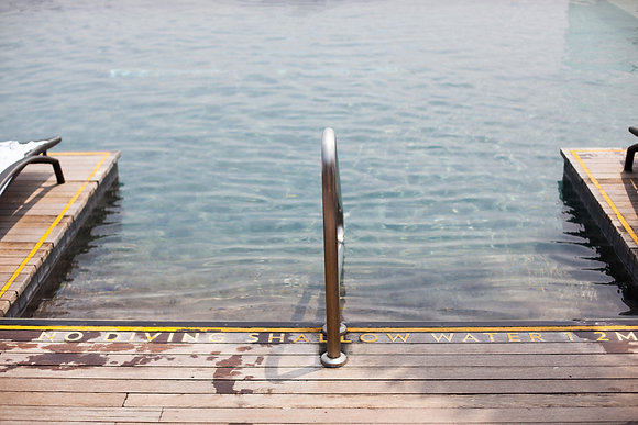 Swimming pool, Marina Bay Sand, Singapour