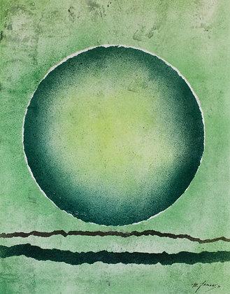 Michel Jamart - Géométrie #9, 1970 - Reproduction 24 x 36 cm