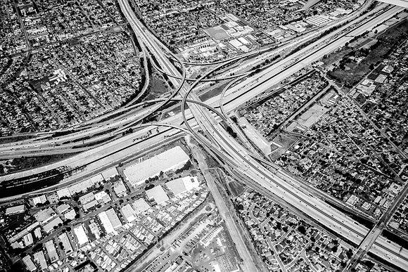 Trafic roads, USA