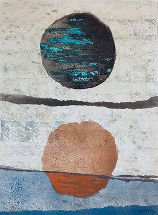 Michel Jamart - Géométrie #4, 1970 - Reproduction