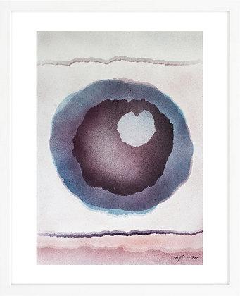 Michel Jamart - Géométrie #5, 1970 - Reproduction 24 x 36 cm