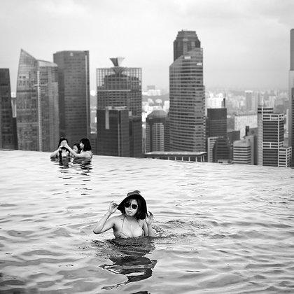 Baigneuse #1, Marina Bay Sand, Singapour