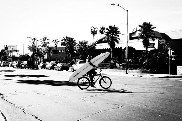 Le surfer, San Diego, USA