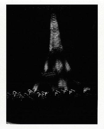 POLAROID LAND 250 - Paris by night - Limité à 8 exemplaires