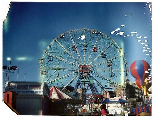 POLAROID LAND 250 - Wonder wheel, Coney Island, Brooklyn, USA