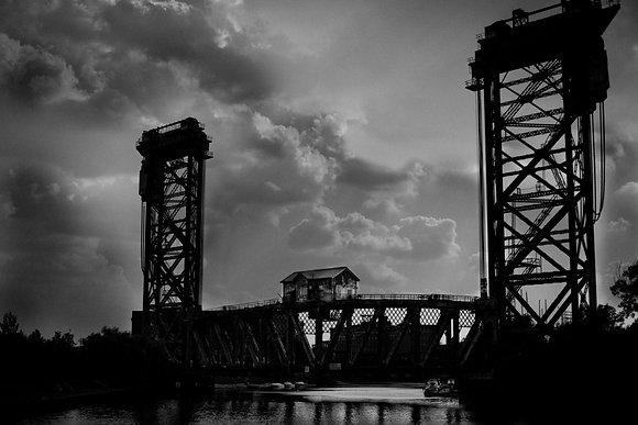 Railroad Bridge, Chicago, USA