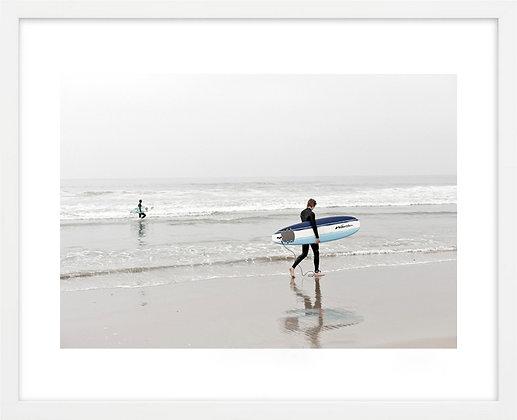 Surf matinal, Venice beach, Los Angeles, USA