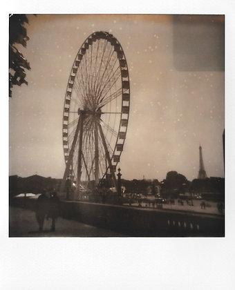 POLAROID - La roue, Paris - Exemplaire unique