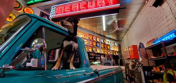 Frontier Auto Museum Mercury