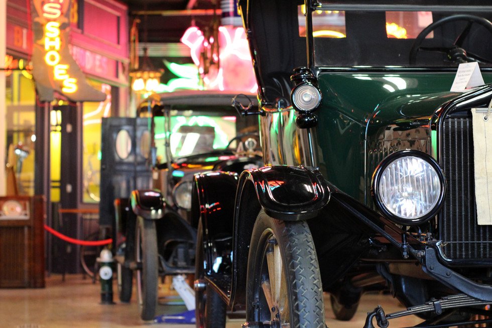 Ford Model T Frontier Auto Museum