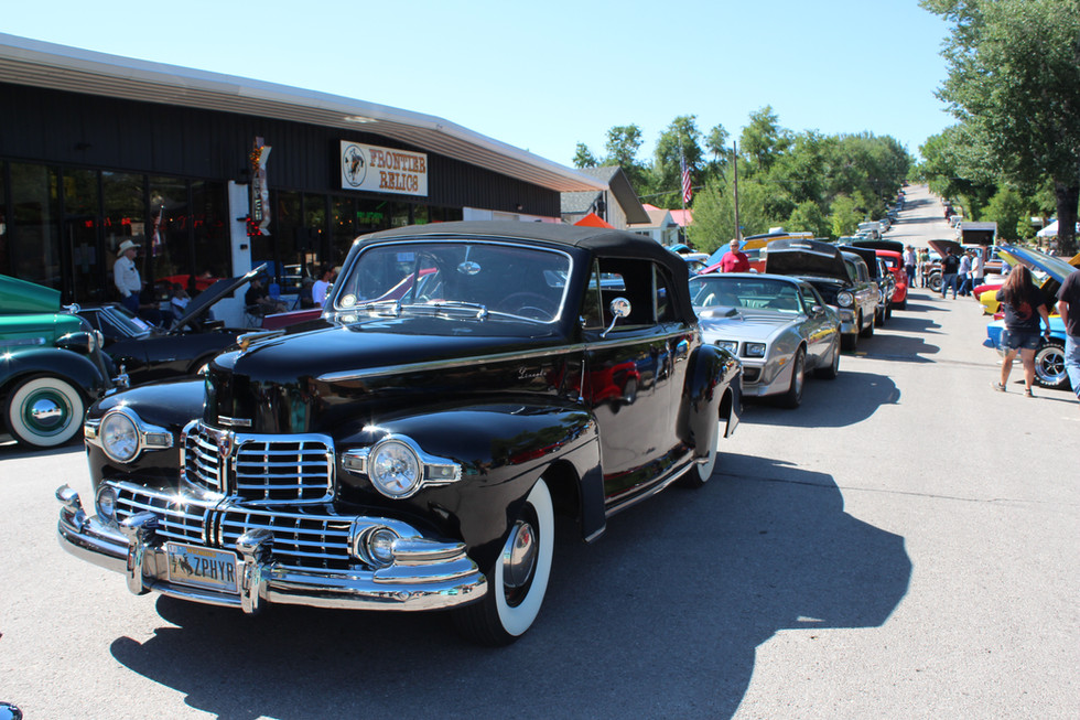Classic Lincoln Frontier Auto Museum Car Show