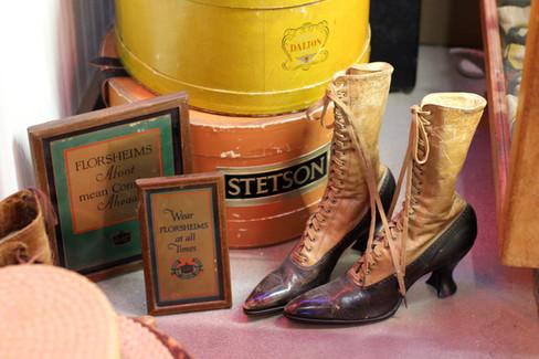 Antique Department Store Red Goose Shoes Frontier Auto Museum