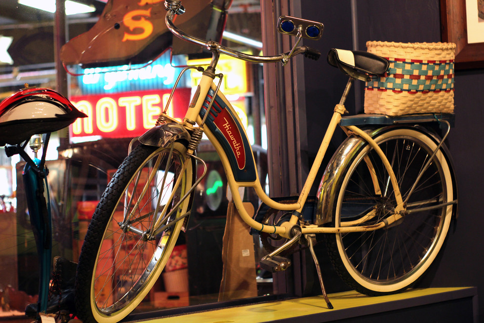 Vintage Bicycle Frontier Auto Museum