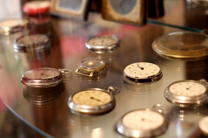 Vintage Pocket Watch Repair Shop Frontier Auto Museum