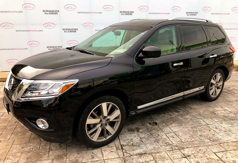 NISSAN PATHFINDER 2015 Exclusive V6 3.5L AWD 3 Filas