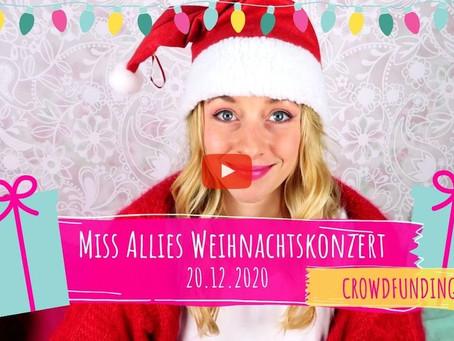 CROWDFUNDING: Miss Allies Weihnachtskonzert