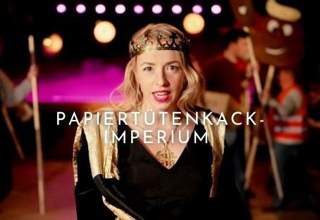 Neues Musikvideo: Papiertütenkackimperium