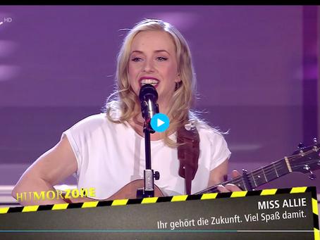 Miss Allie gewinnt Newcomerpreis der Humorzone Dresden 2020