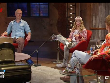 Miss Allie und Johann König beim Kölner Treff
