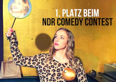 Miss Allie holt den 1. Platz beim NDR Comedy Contest