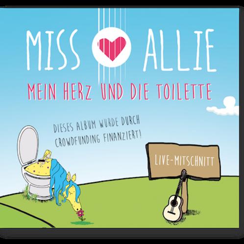 """Album """"Mein Herz und die Toilette"""""""