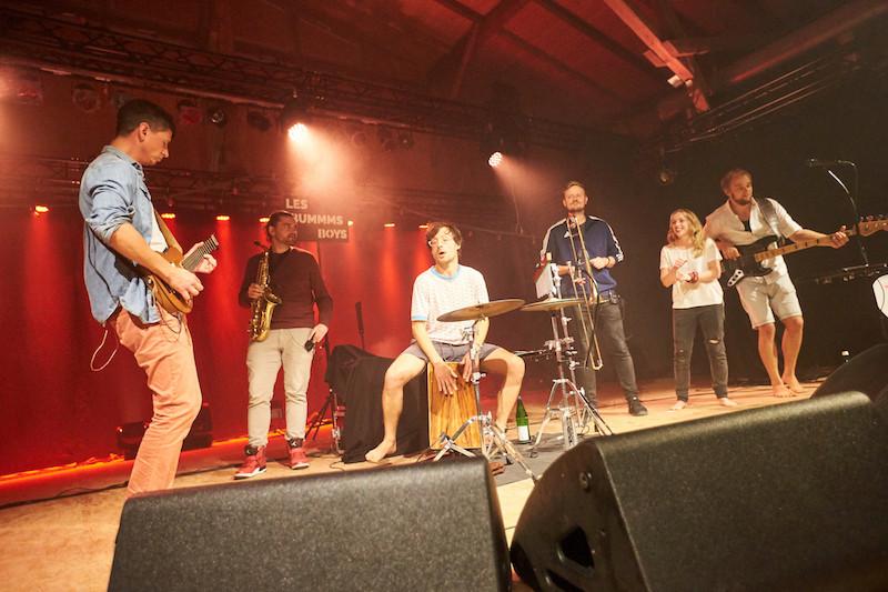 Les Bummms Boys aus Rostock