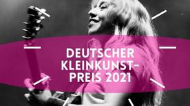 Deutscher Kleinkunstpreis 2021 - Förderpreis für Miss Allie