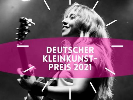 Deutscher Kleinkunstpreis 2021 für Miss Allie