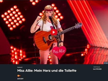 Miss Allie rockt das 3sat Festival 2019