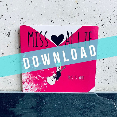 """ALBUM-DOWNLOAD: """"This is Why!"""""""