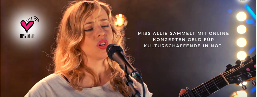 Miss Allie Online Konzerte