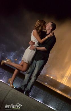 Melissa Kyle Fountain Kiss