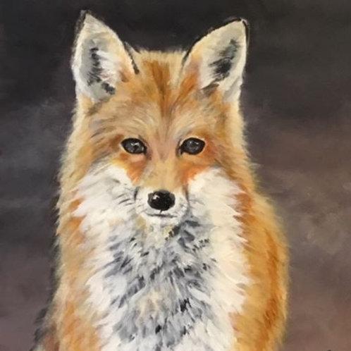 JB Fluffy fox