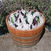 Half Wine Barrel